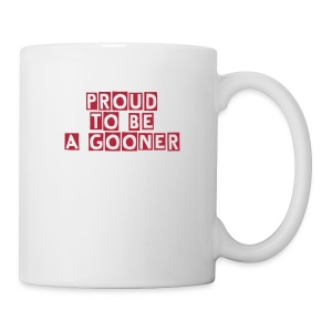 Arsenal-Proud to be a gooner - Tasse