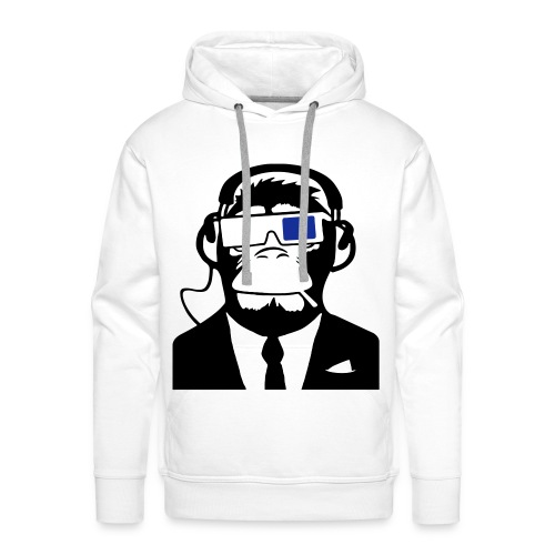 CrazyNATION crazy futuristic monkey sweater - Mannen Premium hoodie