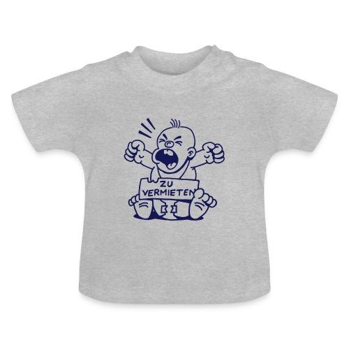 Baby zu vermieten - Junge - Baby T-Shirt