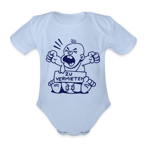 Baby zu vermieten - Junge - Baby Bio-Kurzarm-Body