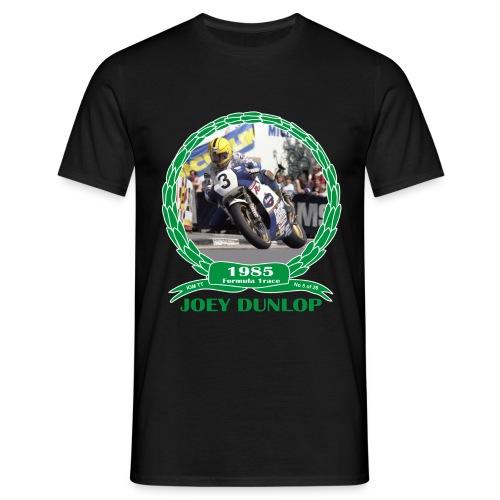 No 5 Joey Dunlop TT 1985 Formula 1 - Men's T-Shirt