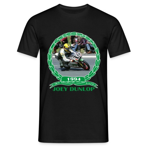 No 16 Joey Dunlop TT 1994 Ultra Lightweight 125cc - Men's T-Shirt