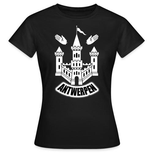 T-shirt F | Antwerpen/WIT - Vrouwen T-shirt