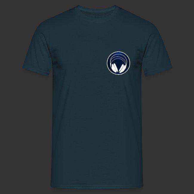T-shirt homme logo podradio V2 premium