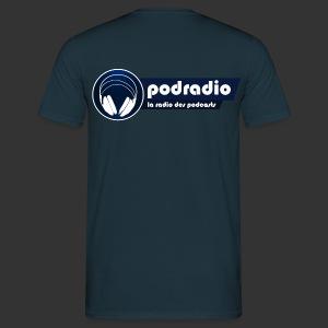 T-shirt homme logo podradio V2 premium - T-shirt Homme