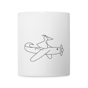 RUNNY-Flieger-Becher - Tasse