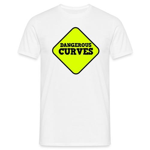 Dangerous Curves - Men's T-Shirt