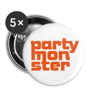 Partymonster-Font No. 1 - Buttons klein 25 mm