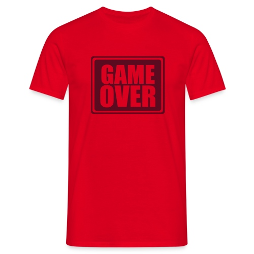 Game Over Man - Camiseta hombre