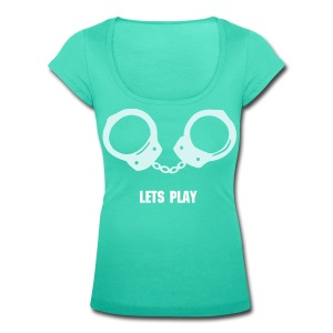 Lets Play - Women's Scoop Neck T-Shirt