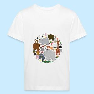 The Animal Kingdom - Kids' Organic T-shirt