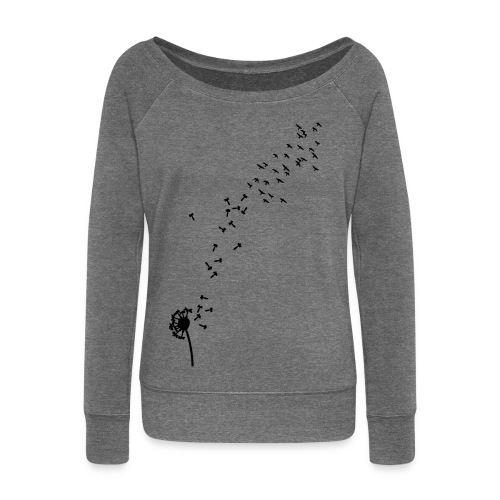 Free Spirit Winter Sweater - Women's Boat Neck Long Sleeve Top
