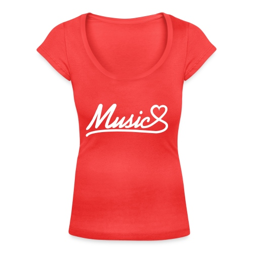 Music - What Feelings Sound Like - Women's Scoop Neck T-Shirt