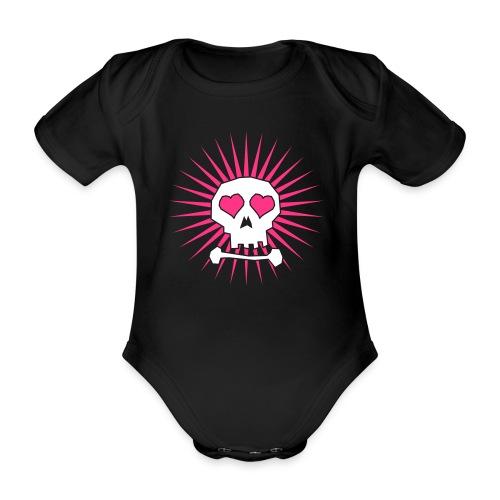 Vauvan lyhythihainen luomu-body