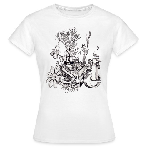 Wild Side T-Shirt Frauen - Frauen T-Shirt