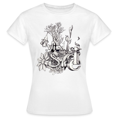 Wild Side T-Shirt Frauen - Frauen T-Shirt