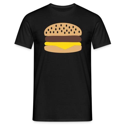 Camiseta Burger. Chica - Camiseta hombre