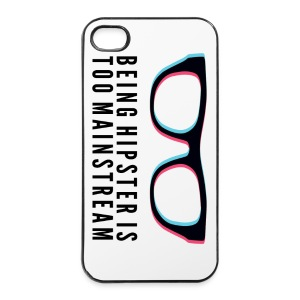 Hipster Is Too Mainstream iPhone Case - iPhone 4/4s Hard Case