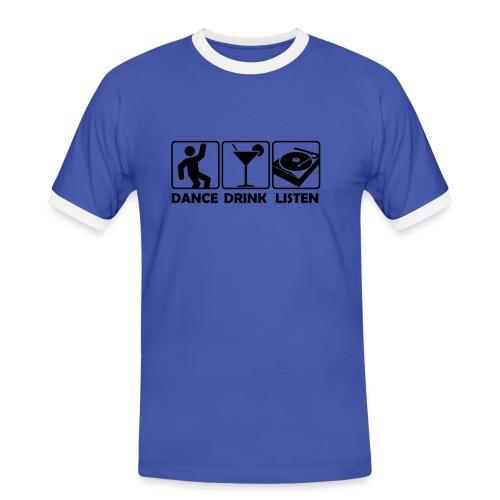 DDL - Men's Ringer Shirt
