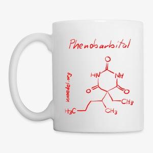 Phenobarbital Rot - Tasse