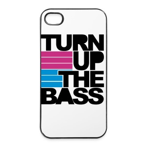 Turn up The Bass Iphone cover - iPhone 4/4s hard case