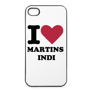 I love Martins Indi iPhone 4/4S case - iPhone 4/4s hard case