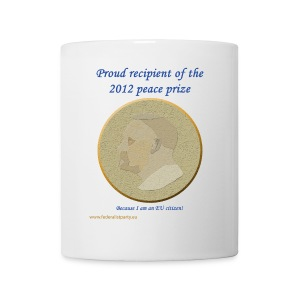 Peace Prize - Mug with Logo - Mug