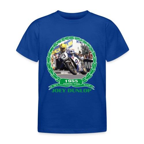 No 5 Joey Dunlop TT 1985 Formula 1 - Kids' T-Shirt