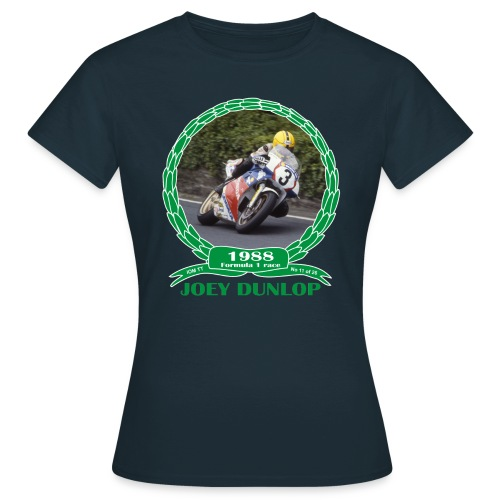 No 11 Joey Dunlop TT 1988 Formula 1 - Women's T-Shirt