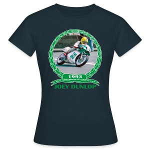 No 15 Joey Dunlop TT 1993 Ultra Lightweight 125cc - Women's T-Shirt
