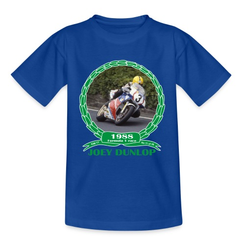 No 11 Joey Dunlop TT 1988 Formula 1 - Kids' T-Shirt