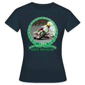No 18 Joey Dunlop TT 1995 Lightweight 250cc - Women's T-Shirt