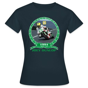 No 17 Joey Dunlop TT 1994 Junior - Women's T-Shirt