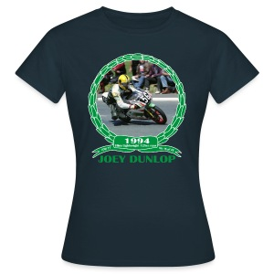 No 16 Joey Dunlop TT 1994 Ultra Lightweight 125cc - Women's T-Shirt