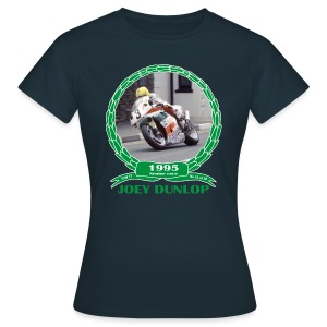 No 19 Joey Dunlop TT 1995 Senior - Women's T-Shirt
