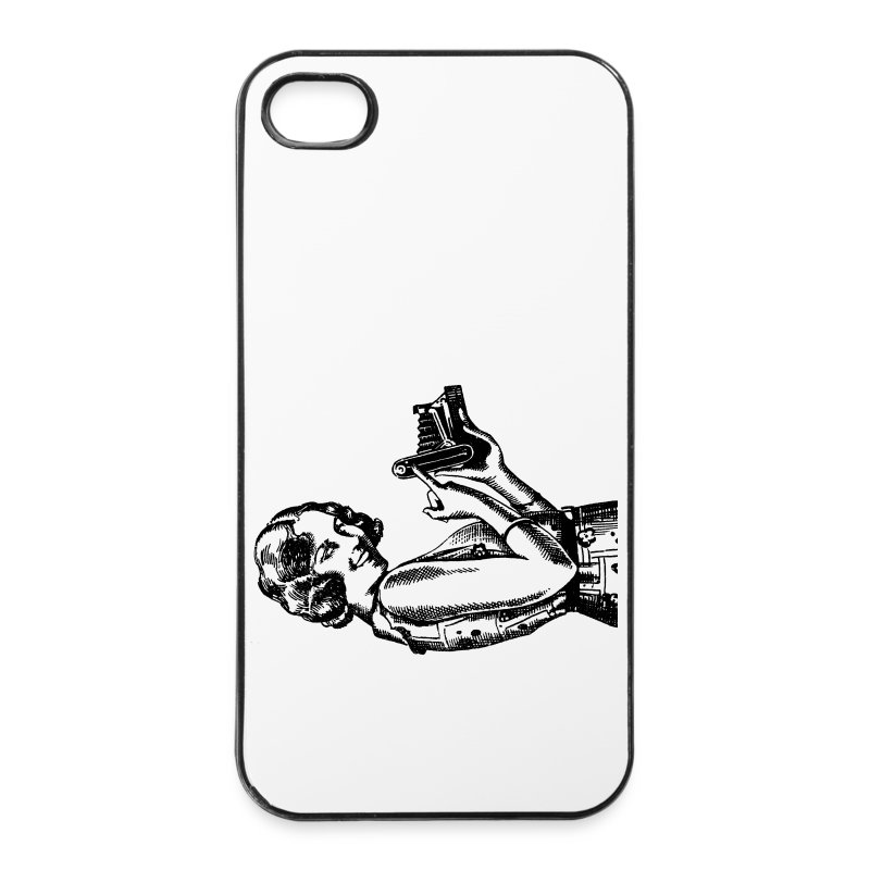iPhone Camera Lady - Coque rigide iPhone 4/4s