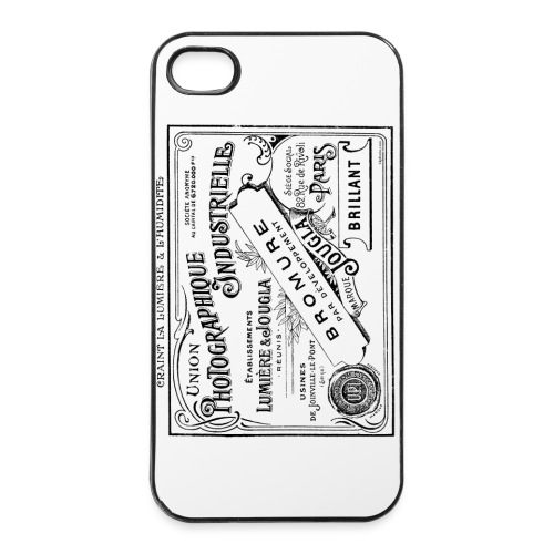 iPhone papier bromure - Coque rigide iPhone 4/4s