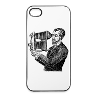 Coques pour portable et tablette ~ Coque rigide iPhone 4/4s ~ iPhone Reporter