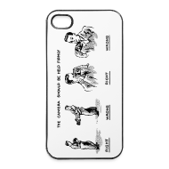 Coques pour portable et tablette ~ Coque rigide iPhone 4/4s ~ iPhone The camera should be held firmly