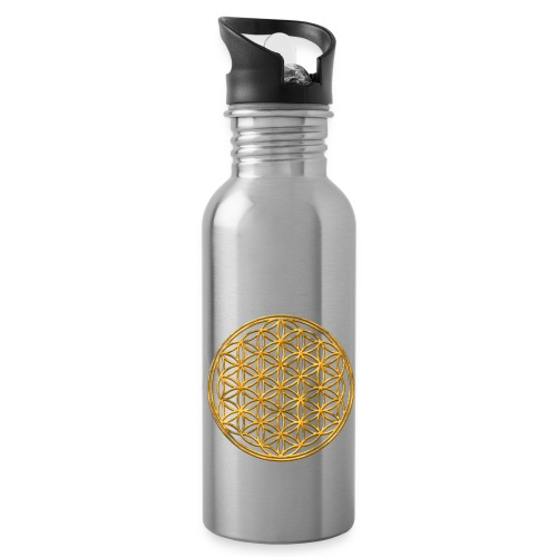 Drinkfles met Flower of life - Drinkfles