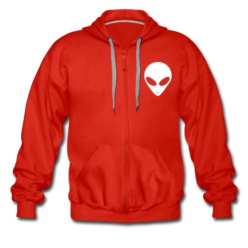 men stylish zip up hoodie - Men's Premium Hooded Jacket