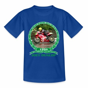No 23 Joey Dunlop TT 1998 Lightweight 250cc - Kids' T-Shirt