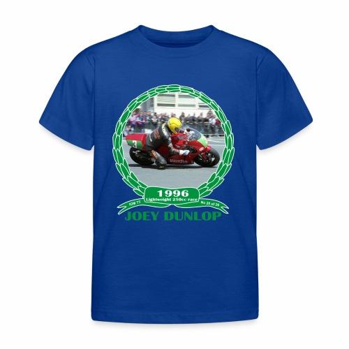 No 20 Joey Dunlop TT 1996 Lightweight 250cc - Kids' T-Shirt