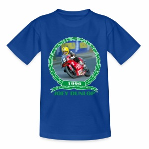 No 21 Joey Dunlop TT 1996 Ultra Lightweight 125cc - Kids' T-Shirt