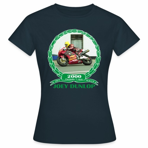 No 24 Joey Dunlop TT 2000 Formula 1 - Women's T-Shirt