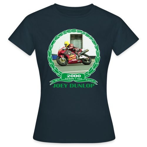 No 24 Joey Dunlop TT 2000 Formula 1 - Women's T-Shirt