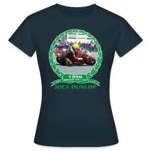 No 20 Joey Dunlop TT 1996 Lightweight 250cc - Women's T-Shirt