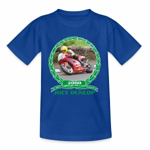 No 25 Joey Dunlop TT 2000 Lightweight 250cc - Kids' T-Shirt