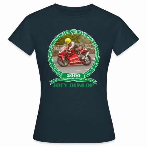 No 26 Joey Dunlop TT 2000 Ultra Lightweight 125cc - Women's T-Shirt
