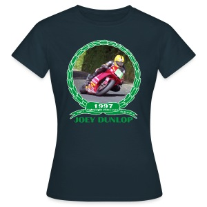 No 22 Joey Dunlop TT 1997 Lightweight 250cc - Women's T-Shirt